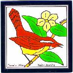 Carolina Wren Tile,Carolina Wren Wall Plaque,Carolina Wren Trivet