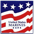 Armed Forces and Military Gift Tile Wall Plaques, U.S. Marines Wall Plaque by Besheer Art Tile