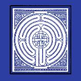 This Hand Painted Besheer Art Tile was inspired by the Labyrinth in the Chancel of the Riverside Church, which was adapted from the Labyrinth at the Chartres Cathedral in France, one of the few such ancient designs in existence. The journey on the Labyrinth is a walking meditation based on the circle, the universal symbol for unity and wholeness. Labyrinths are a part of many religious traditions, serving as metaphors for the spiritual journey, the path of life. The Kabbalah, the Tree of Life from the Jewish tradition, is a labyrinth—as is the Hopi Medicine Wheel and the Buddhist Mandala.